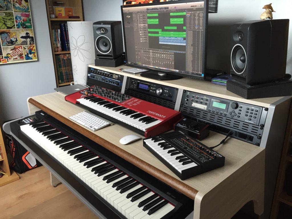 Meuble Zaor pour aménager son home studio