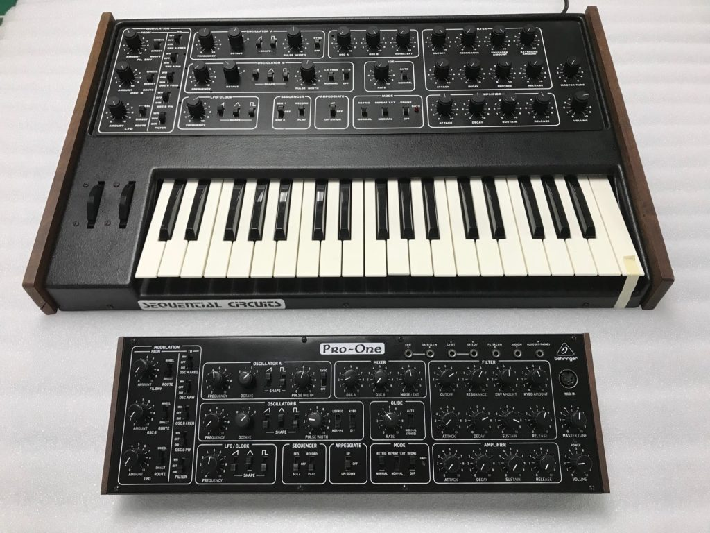 Sequential Behringer Pro one