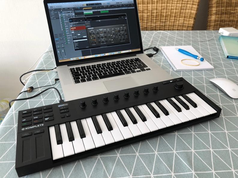 Configuration nomade avec clavier usb