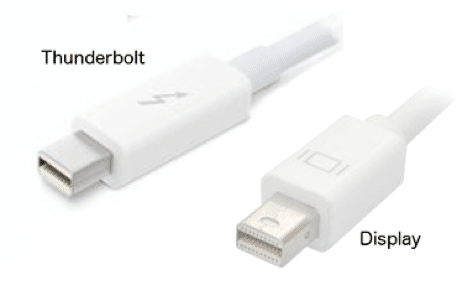 Thunderbolt et mini-display