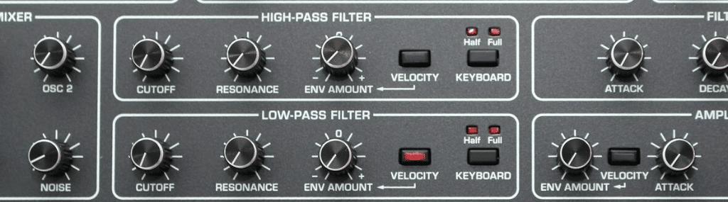Synthé Filtre VCF