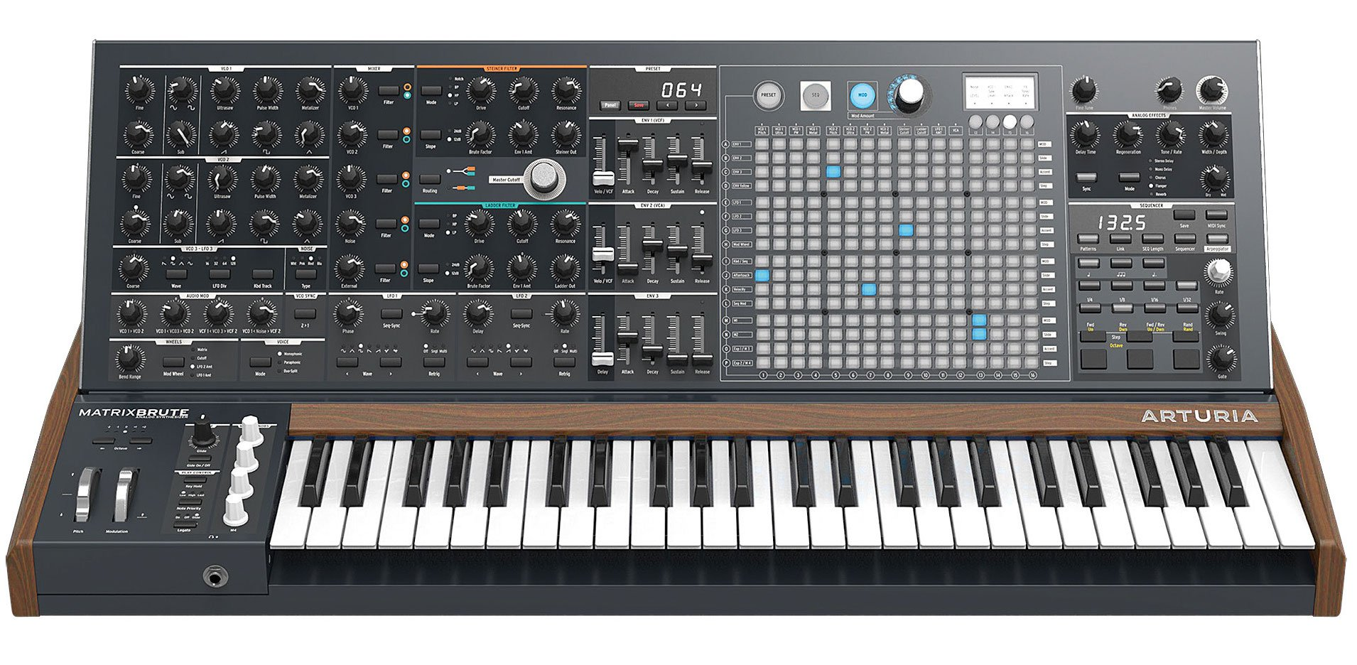 L'Arturia Maxibrute et sa matrice de modulation originale