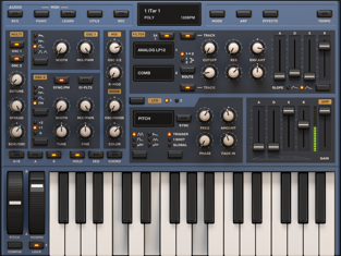 Sunrizer Synth Capture Ipad app