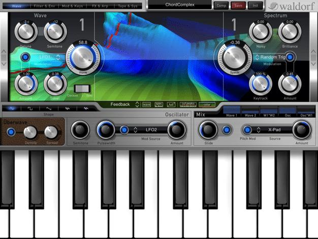 Warldorf Music Nave Ipad App capture
