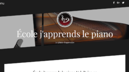 Ecole Japprends le piano