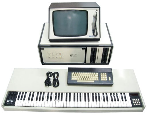 Le sampler Fairlight CMI,