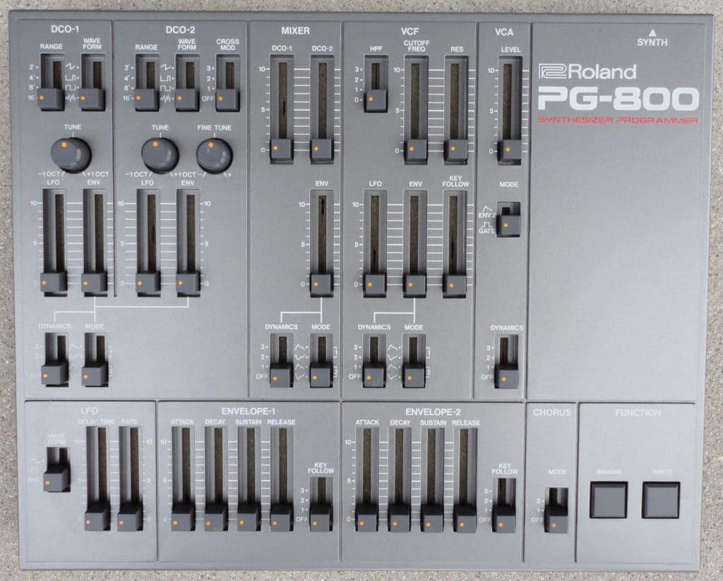 Photo du Roland PG800 pour le Roland JX_8P