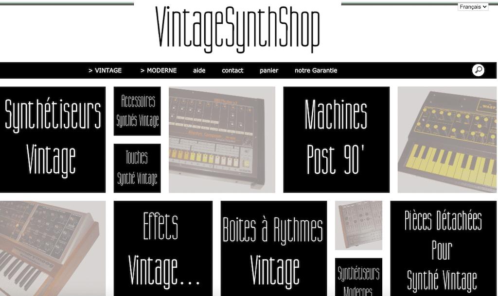 La boutique Vintage Synth Shop