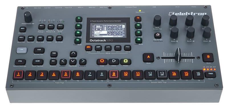 Groove box Elektron Octatrack 2
