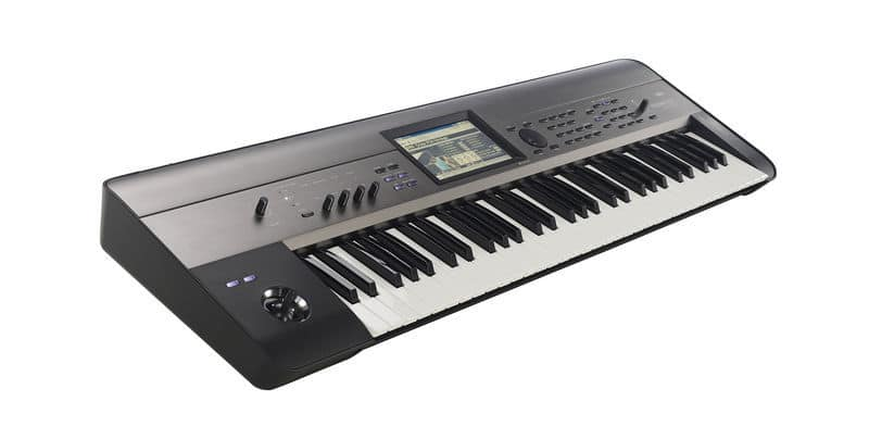 Une workstation Korg Krome EX