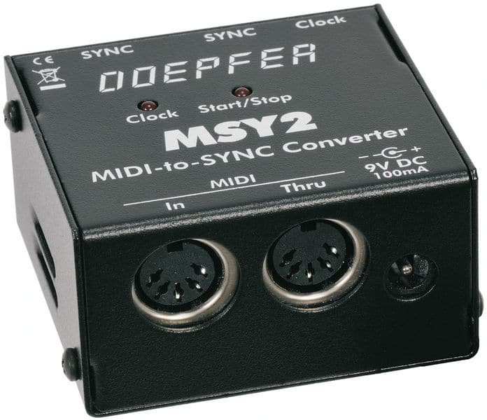 Boitier adaptateur MIDI to SYNC DOEPFER MSY2