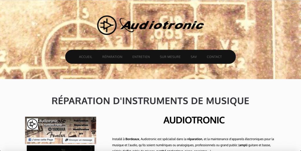 Audiotronic réparateur de synthétiseurs