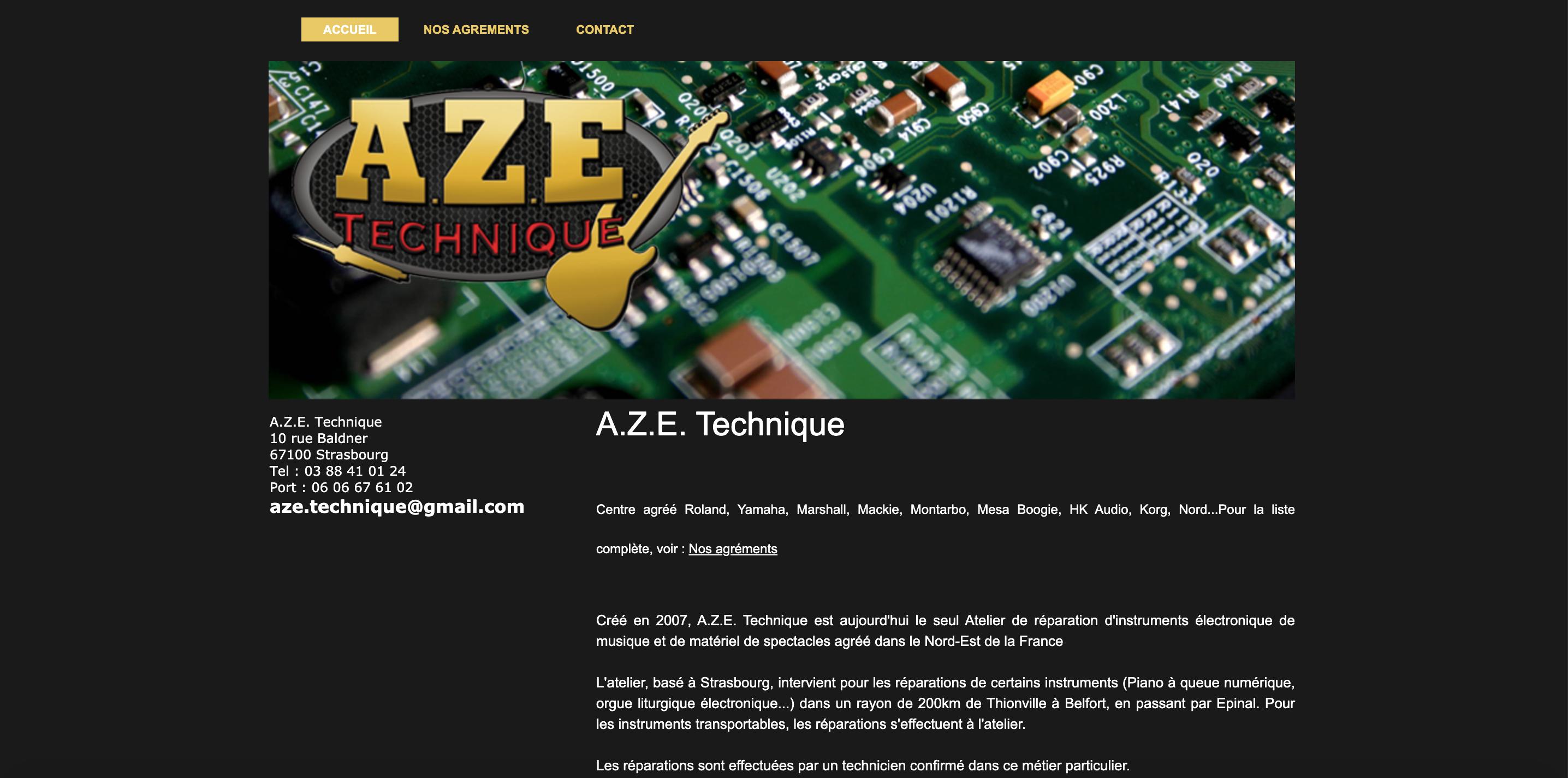 AZE Technique réparateur de synthétiseurs