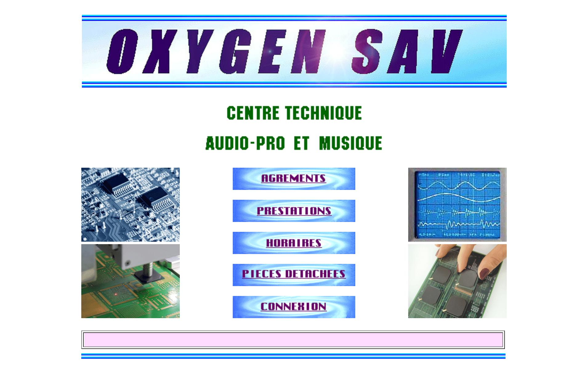Oxygen réparation de synthétiseurs