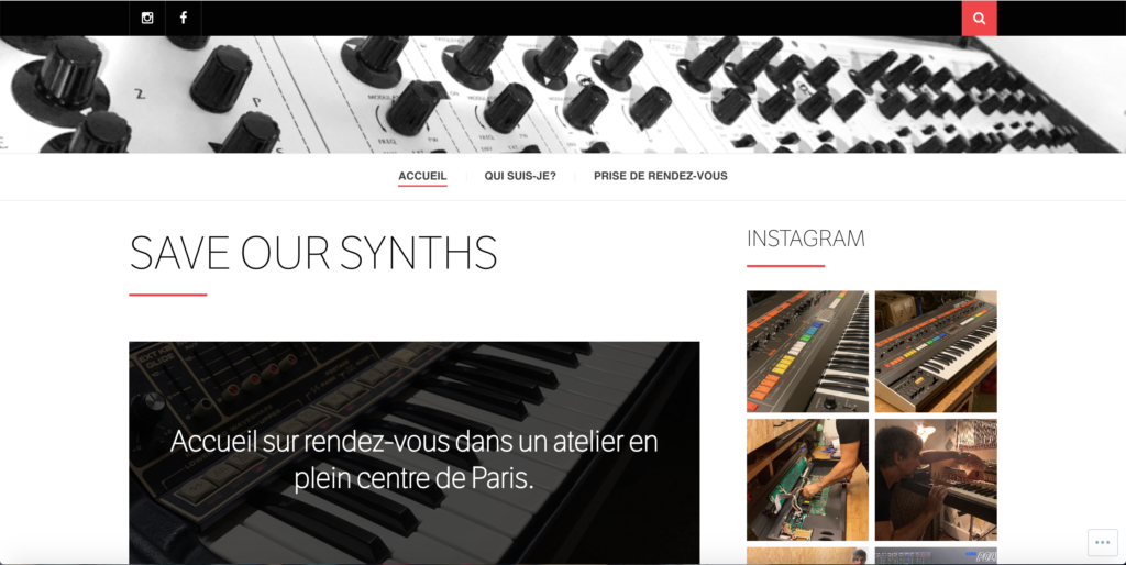 Save our synths réparateur de synthétiseurs