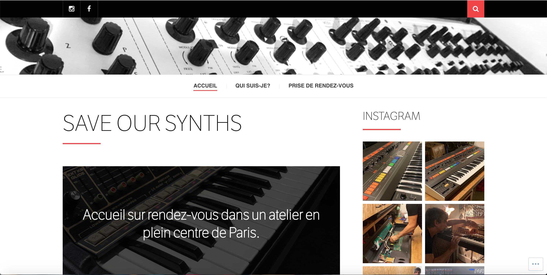Save our synths réparateur de synthétiseurs