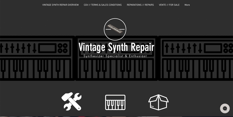 Vintage Synth Repair réparateur de synthétiseurs