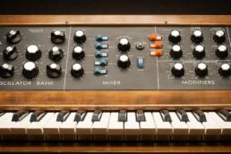 bandeau formation Saw up Minimoog