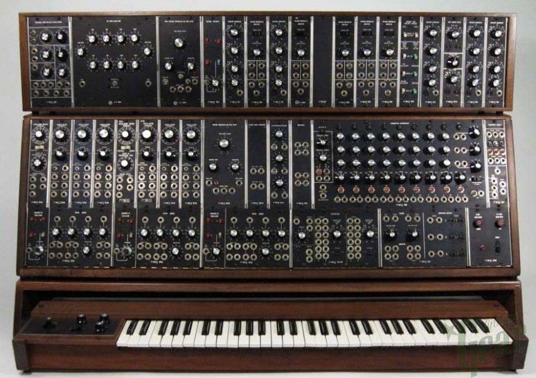 Moog Model 55 utilisé par Keith Emerson