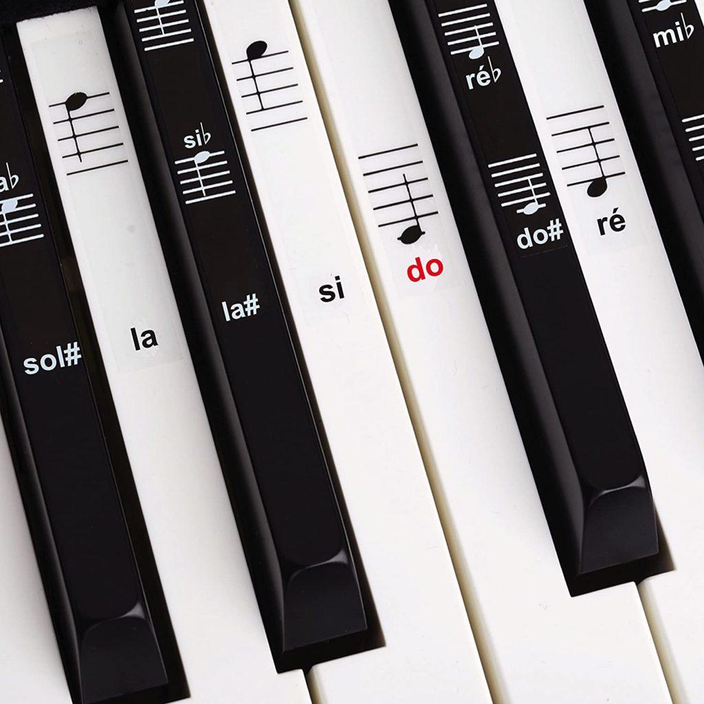 autocollants notes de musique