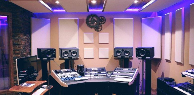 Studio avec lumière intégrée
