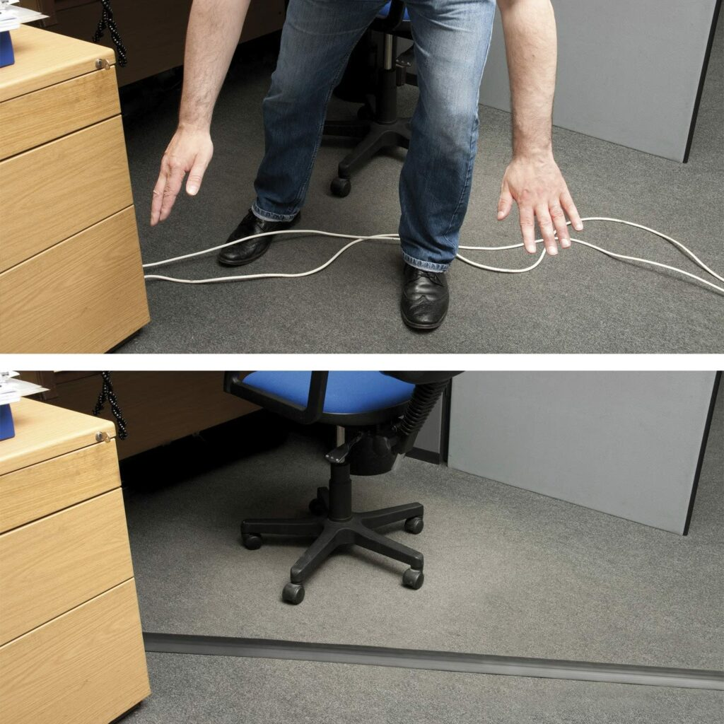 Passe cable pour sol