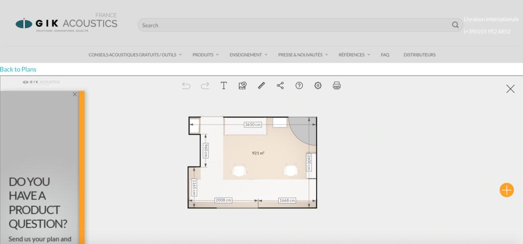 Plan de mon home studio