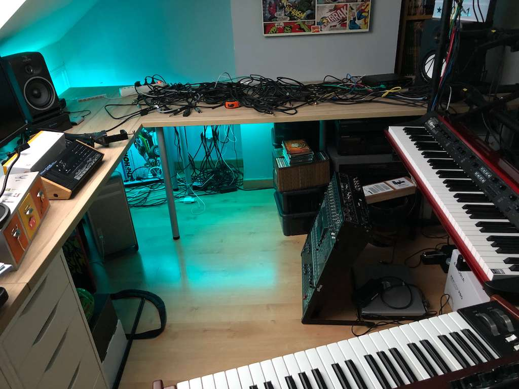 réorganisation du home studio