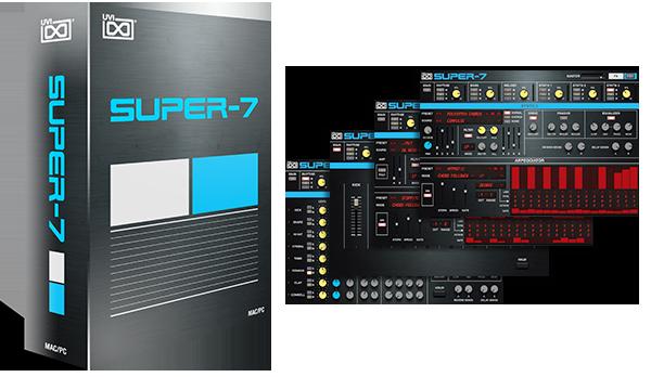 Nouveau synthétiseur UVI Super-7