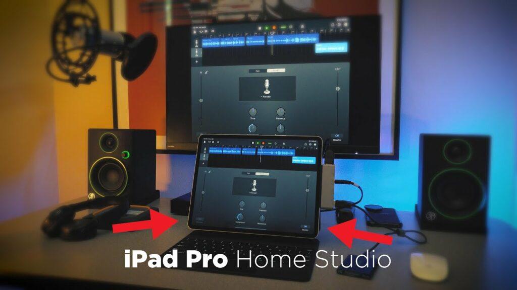 Un home studio autour d'un Ipad Pro