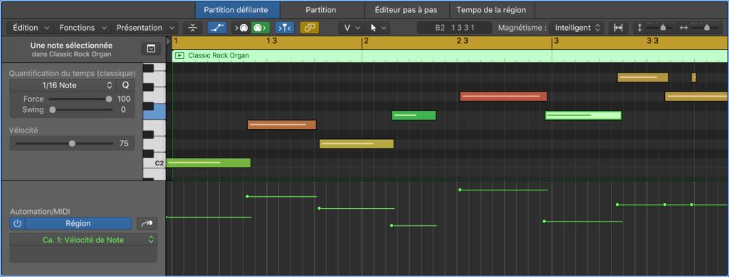 Automation MIDI