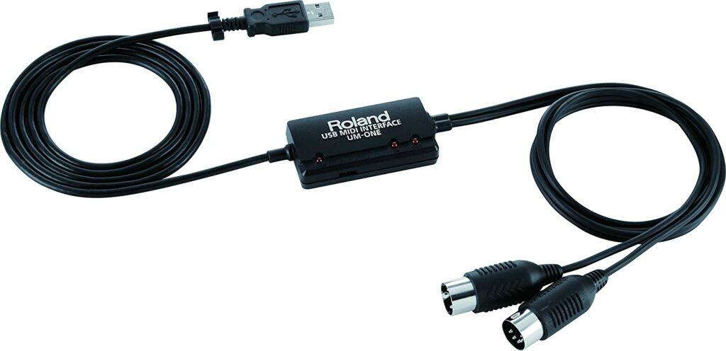 Cable Roland MIDI USB