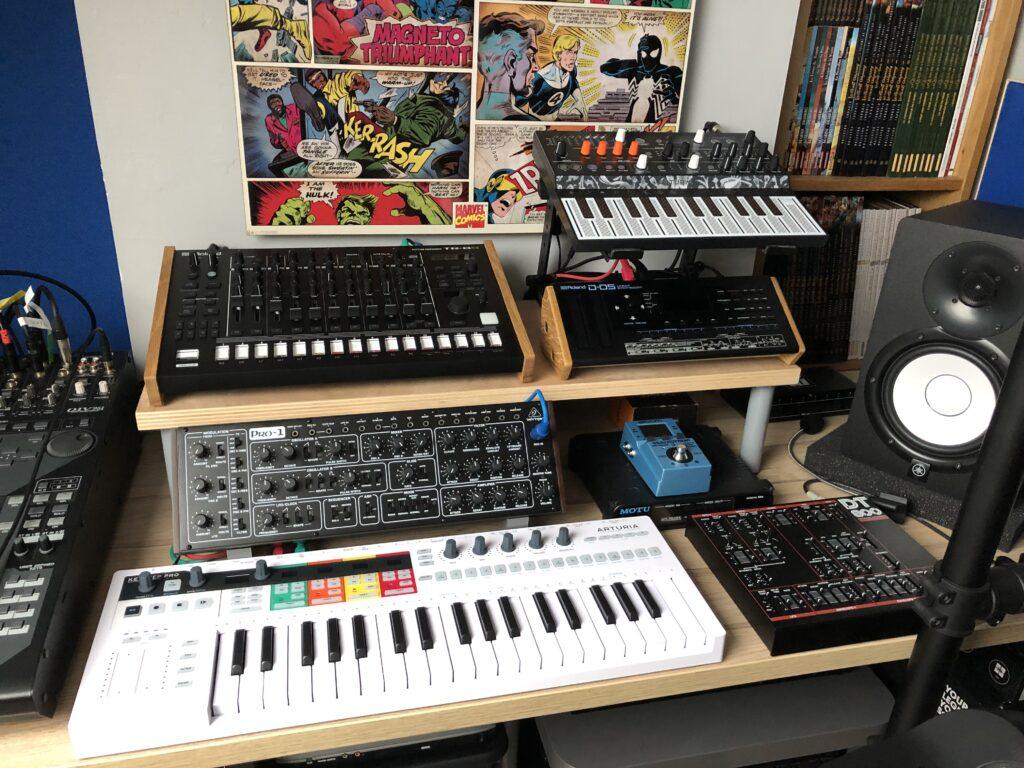 Le setup Dawless utilisé dans l'article