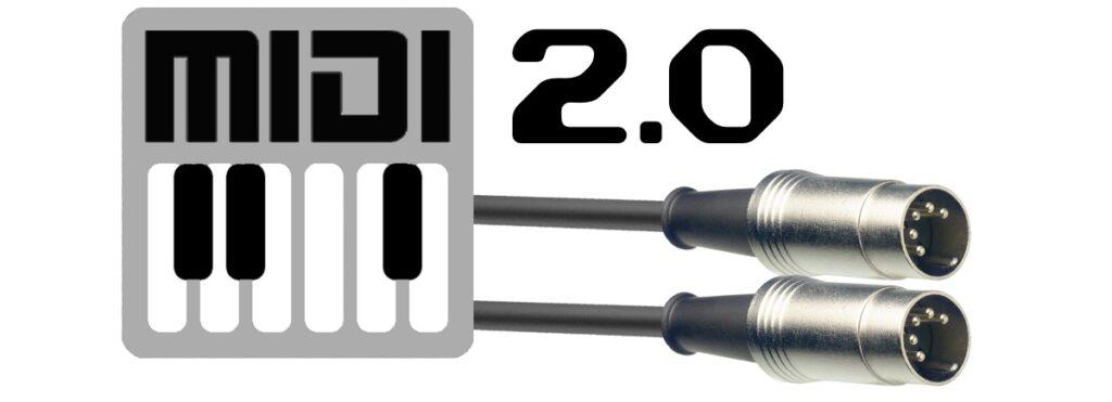 Depuis 2020, la norme MIDI est passée en version 2