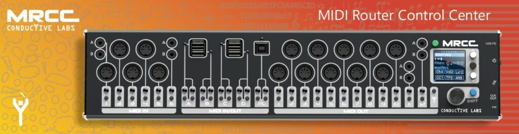 Le boitier MRCC pour gérer vos connexions MIDI et USB