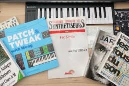 Bandeau article les livres pour les fans de synthés