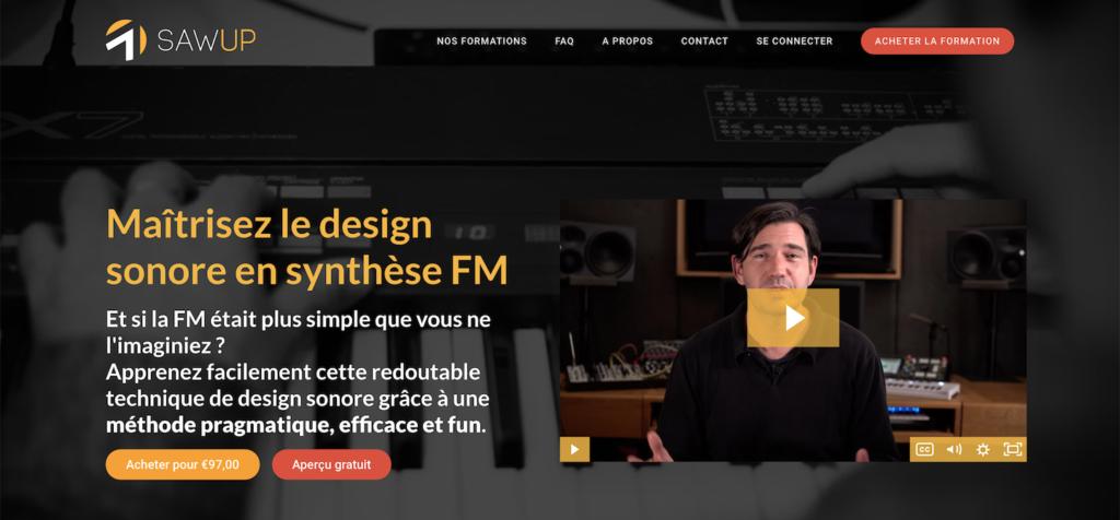 """La formation """"Maîtrisez le design sonore en synthèse FM"""""""