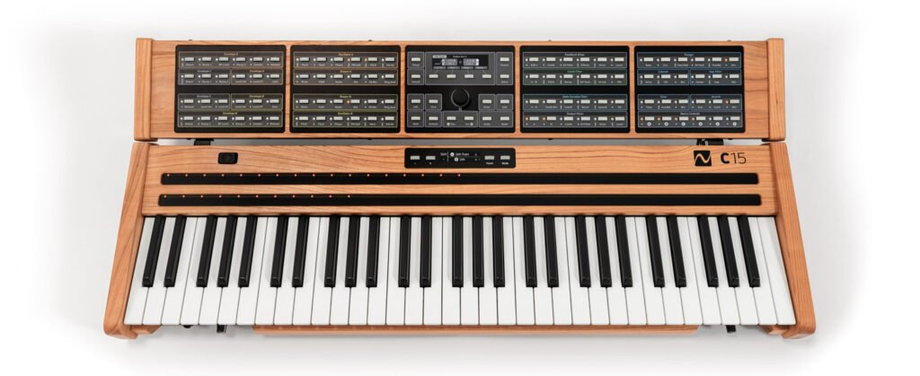 Synthétiseur NonLinear Labs C15, une superbe interface