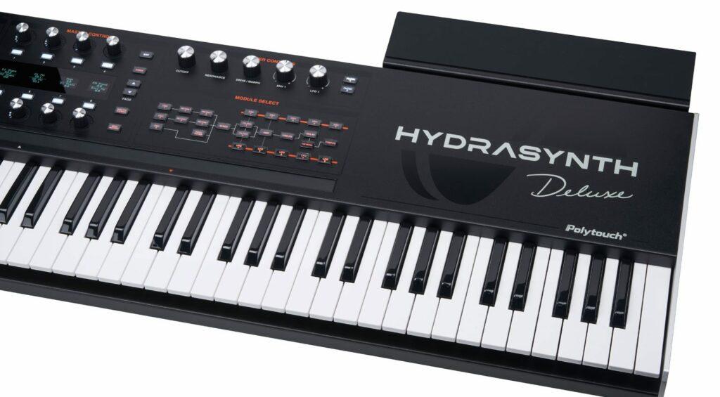 Option tablette pour l'Hydrasynth Deluxe